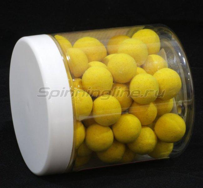 Бойлы High Visual Pop-Ups 15мм Yellow Pineapple Juice -  2
