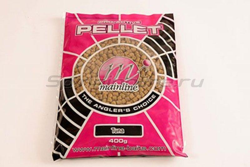 Mainline - Пеллетс прикормочный Pro-Active Carp Pellets 6мм 400гр Tuna - фотография 1