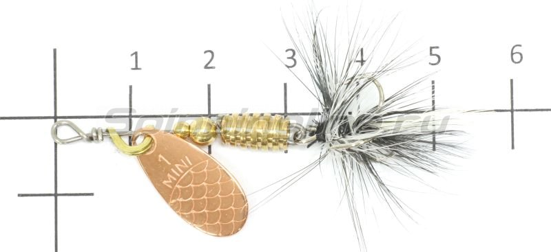 Блесна Lukris Mini Fly 1 plata mat -  2