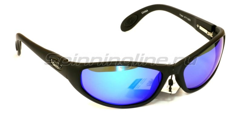 Flying Fisherman - Очки Fly Fisherman Viper Black Smoke Blue Mirror - фотография 1