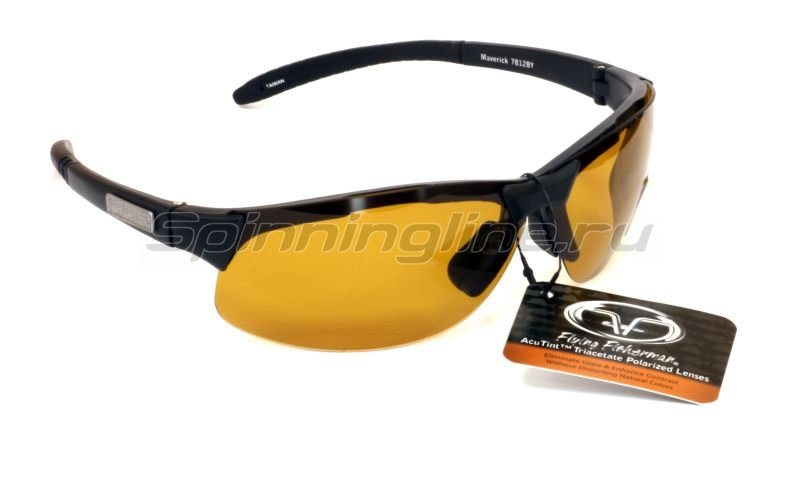 Flying Fisherman - ���� Fly Fisherman Maverick Black Yellow Amber - ���������� 1