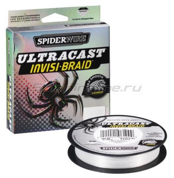 Шнур Ultracast Invisi Braid white 110м 0,14мм -  1
