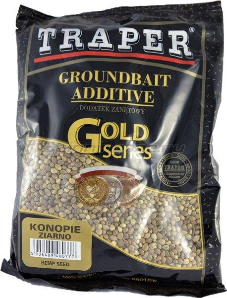 Traper - Добавка в прикорм Конопля зерновая 0,4кг - фотография 1