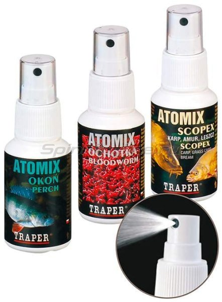 Ароматизатор Traper Атомикс Спрей Судак 50мл - фотография 1