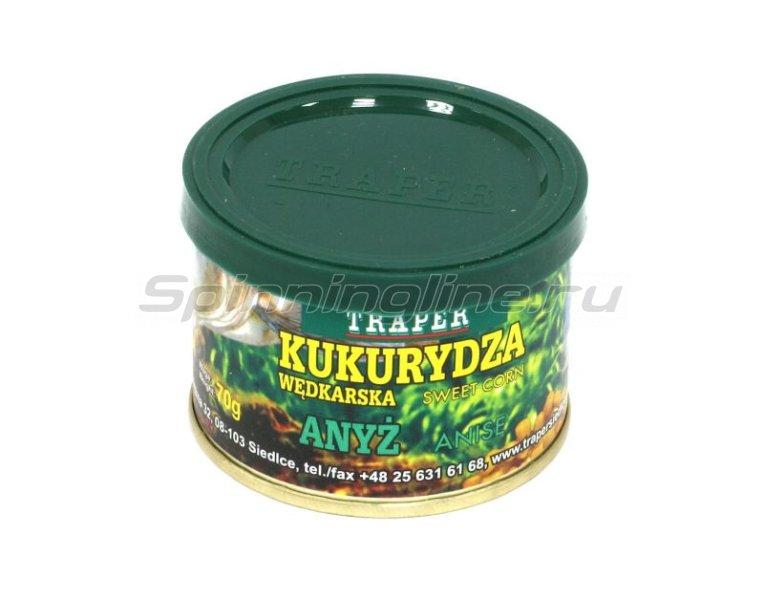 Traper - Кукуруза консервированная, анис 70гр - фотография 1