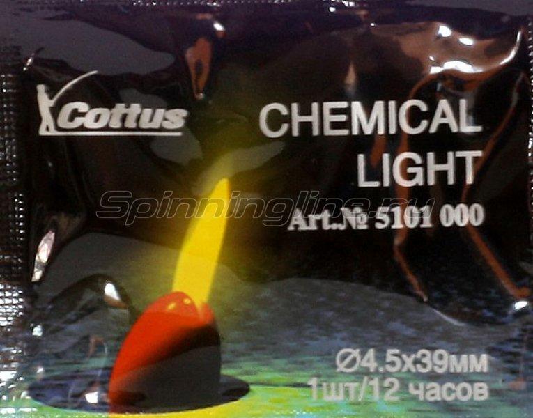 Светлячок Cottus 4,5х39мм желтый - фотография 1