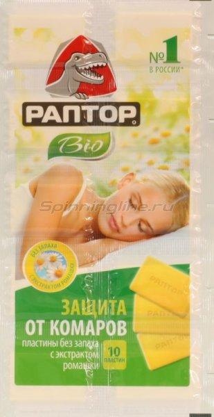 Пластины Раптор от комаров Bio с экстрактом ромашки - фотография 1