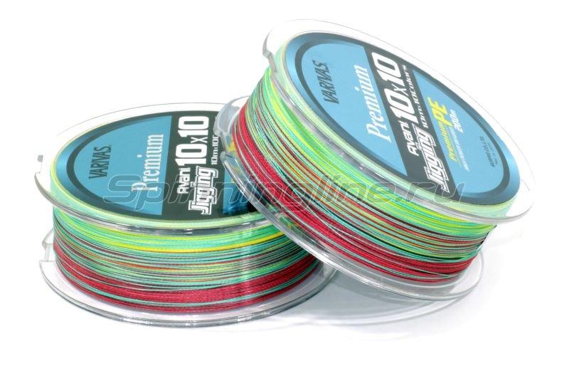 Шнур Avani Jigging 10x10 Premium PE 200м 1 -  4