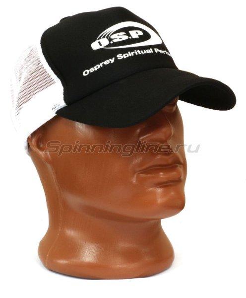 Кепка O.S.P Logo Mesh Cap Black - фотография 1
