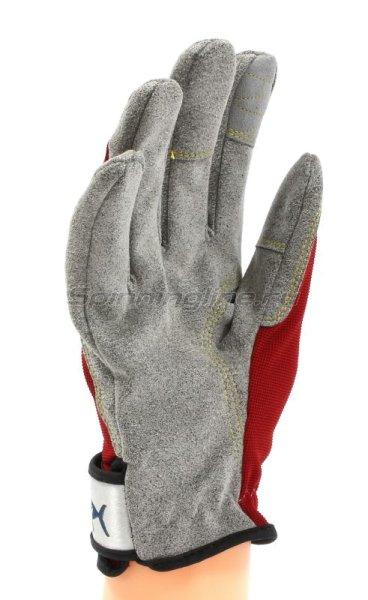 Перчатки Jigging Glove LL красный -  2