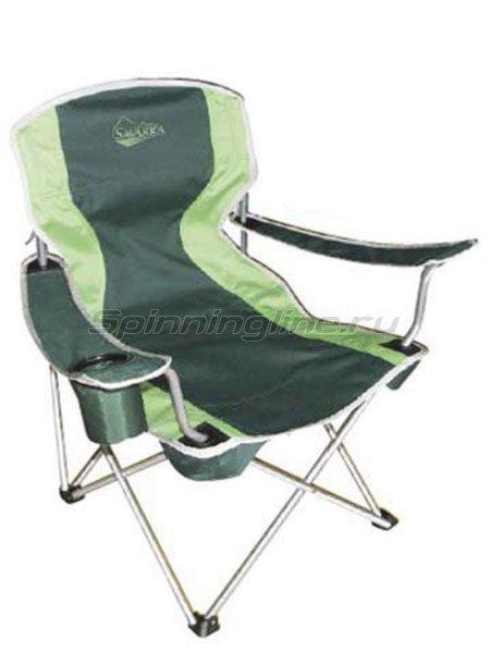 Кресло Savarra зеленый - фотография 1