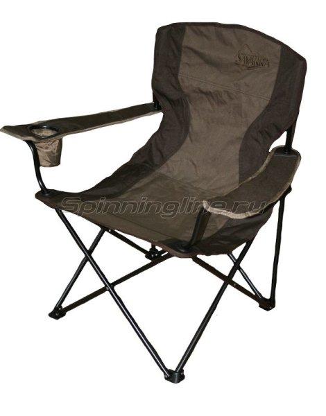 Кресло Savarra коричневый -  1