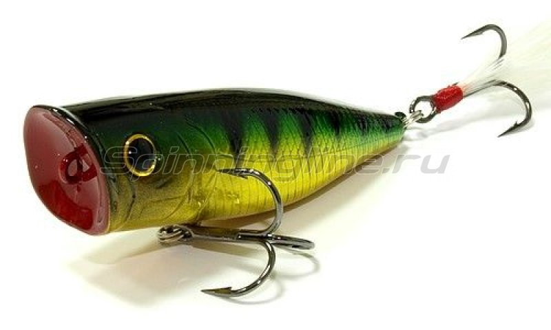 Воблер G-Splash 80 Aurora Green Pearch 280 -  1