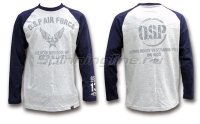Футболка O.S.P Long Sleeve T-Shirt Raglan Navy L