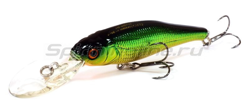 Megabass - Воблер Live-X Margay Tungsten m golden lime ob - фотография 1