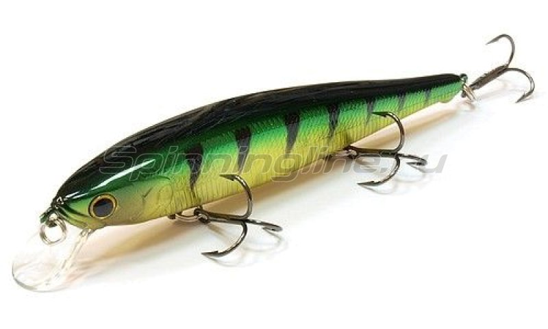 Lucky Craft - Воблер Flash Pointer 115SP Aurora Green Perch 280 - фотография 1