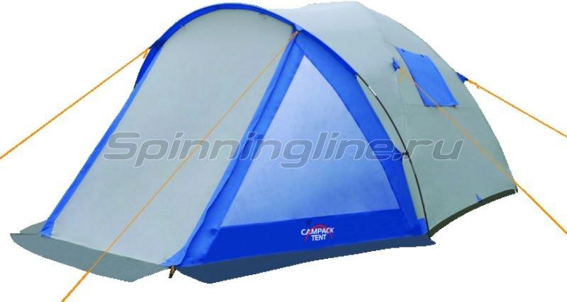 Campack-Tent - Палатка туристическая Peak Explorer 5 - фотография 1