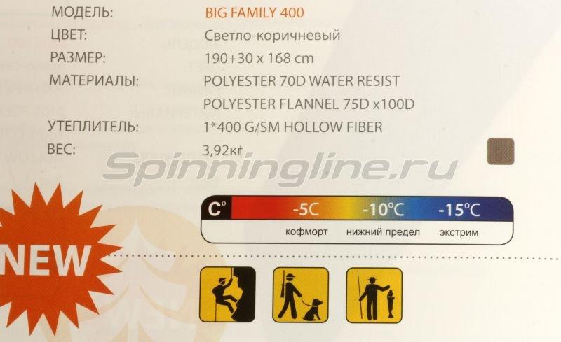 Спальный мешок Big Family 400 -  2