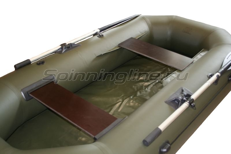 Лодка ПВХ SL 260 зеленая -  2