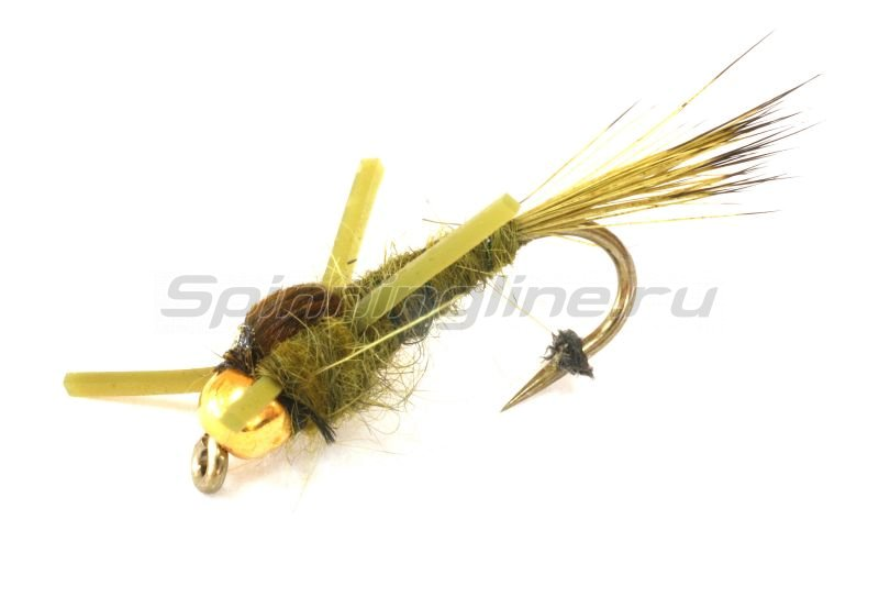 Sci Flies - Набор GRHE Rubber Leg Olive №10 - фотография 1