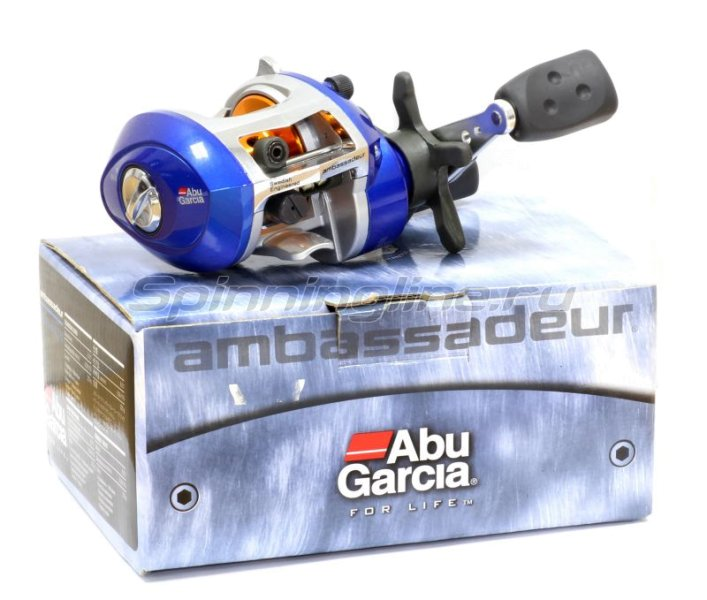 Abu Garcia - Катушка Ambassadeur Blue Max II Low Profile Box LH - фотография 5