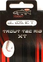 Крючок Trout Tec Rig XT 0.22мм №4