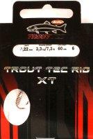 Крючок Trout Tec Rig XT 0.22мм №6