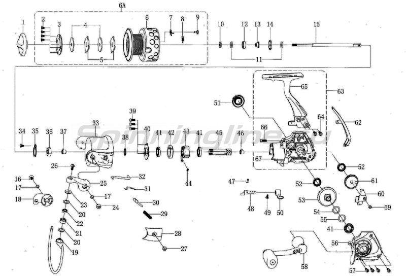 Mitchell - Катушка Mag Premier 4500 FD - фотография 6