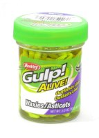 Приманка Gulp Alive Waxies 10 chartreuse