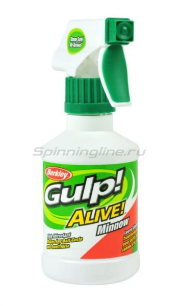 Berkley - Спрей ароматизатор Gulp Alive Spray Shad/Shiner - фотография 1