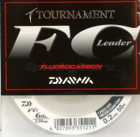 Флюорокарбон Tournament Fluorocarbon 50м 0.18мм