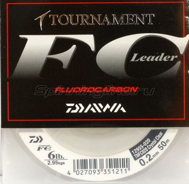 Daiwa - Tournament Fluorocarbon 50м 0.41мм - фотография 1