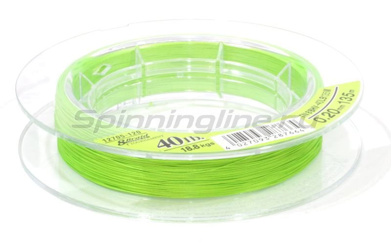 Daiwa - ���� Tournament 8xBraid Chartreuse 135� 0.16�� - ���������� 3