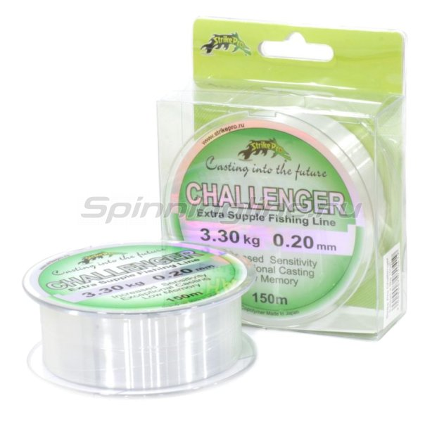Леска Challenger clear 150м 0,20мм -  1