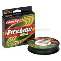 Шнур FireLine Lo Vis Green Braid 270м 0,14мм
