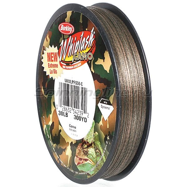 Berkley - ���� Whiplash Camo 110� 0.08�� - ���������� 2