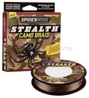 Шнур Spiderwire Stealth 110м 0,12мм Camo
