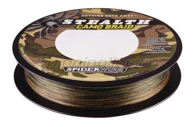Spiderwire - Шнур Stealth 110м 0,30мм Camo - фотография 2