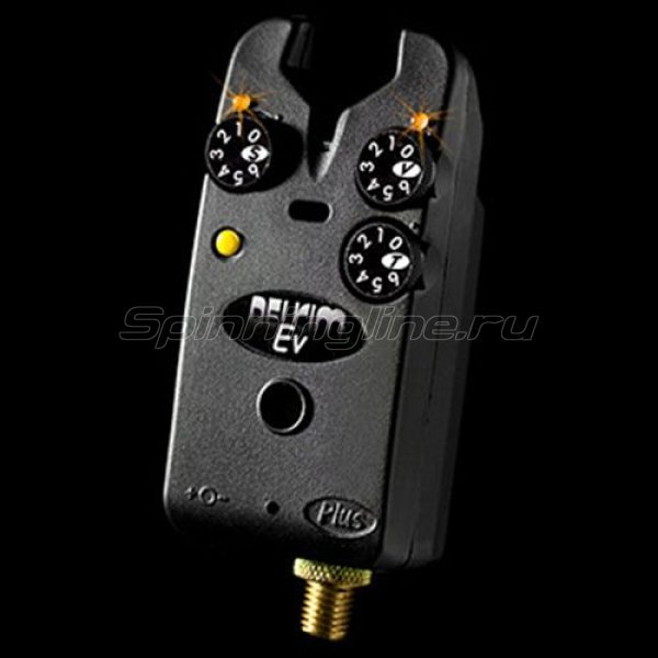 Сигнализатор поклевки электронный Delkim EV Plus-Yellow -  1