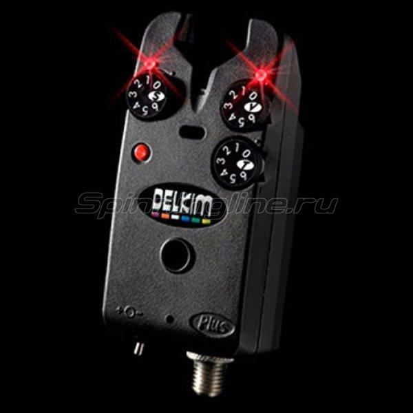 Сигнализатор поклевки электронный Delkim Standart Plus-Flame Red -  1