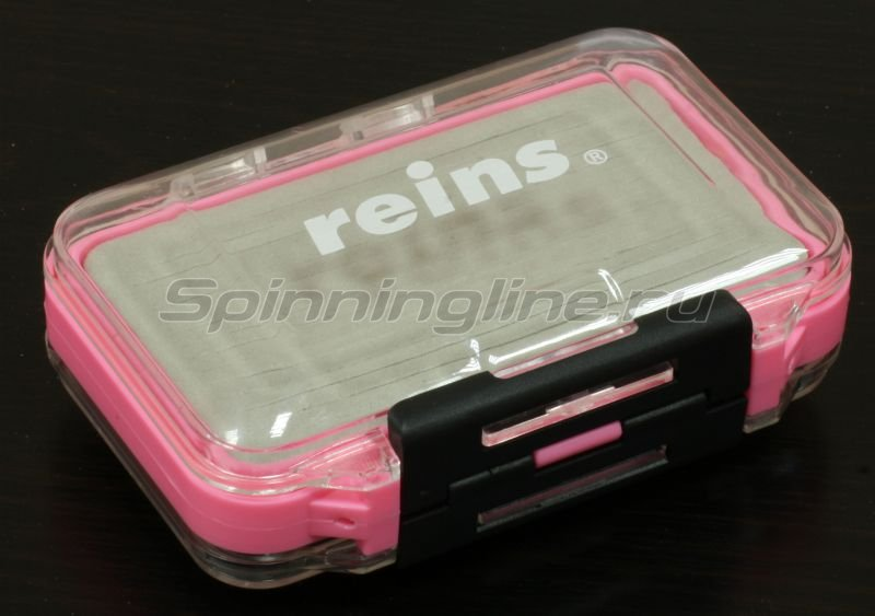 Коробка Reins Aji Ringer Box большая розовая -  1