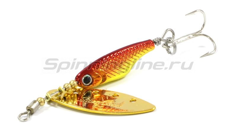 Блесна Silver Creek SPINNER Z 1060 h-red gold -  2