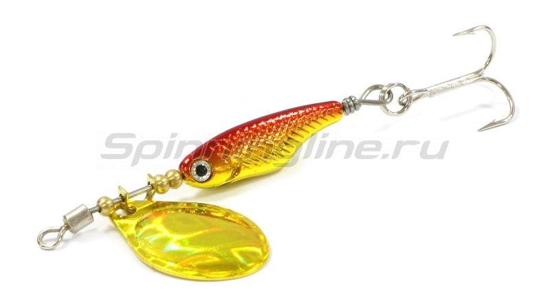 Блесна Silver Creek SPINNER Z 1060-C hl red gold -  1