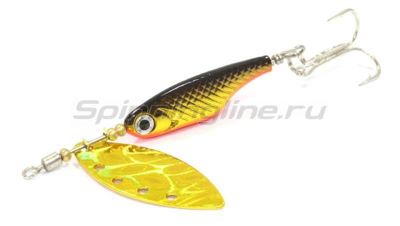 Блесна Silver Creek SPINNER Z 1090 hl black gold -  1