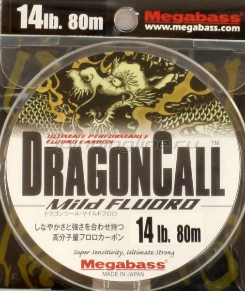 Megabass - Флюорокарбон Dragoncall Mild Fluoro 80м 0,31мм - фотография 1