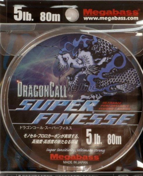 Megabass - Флюорокарбон Dragoncall Super Finesse 80м 0,128мм - фотография 1