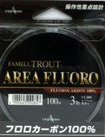 Флюорокарбон Fammel Trout Area Fluoro 100м 0,131мм