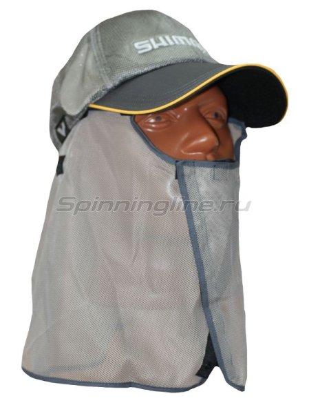 Кепка Shimano Mos-Shield CA-001K серебро free - фотография 2