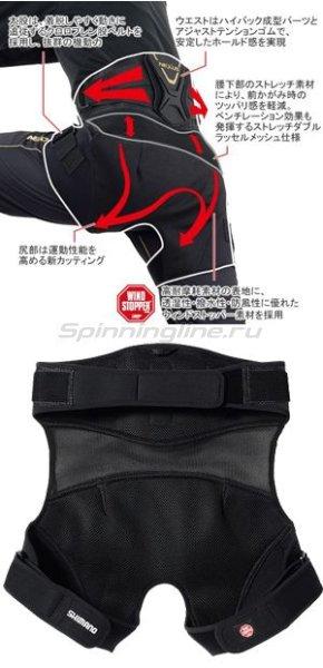 Shimano - Подкладка Nexus GU-101K черный LL - фотография 2