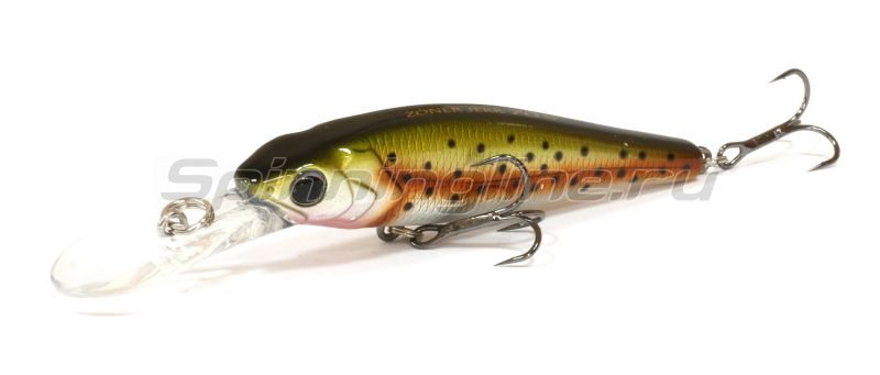 Major Craft - Воблер Zoner Jerk Bait 50SP 05 Rainbow - фотография 1